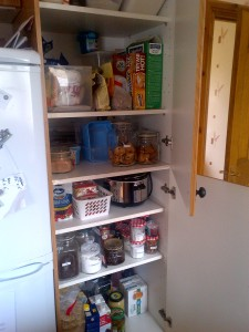 Pantry re-organisation